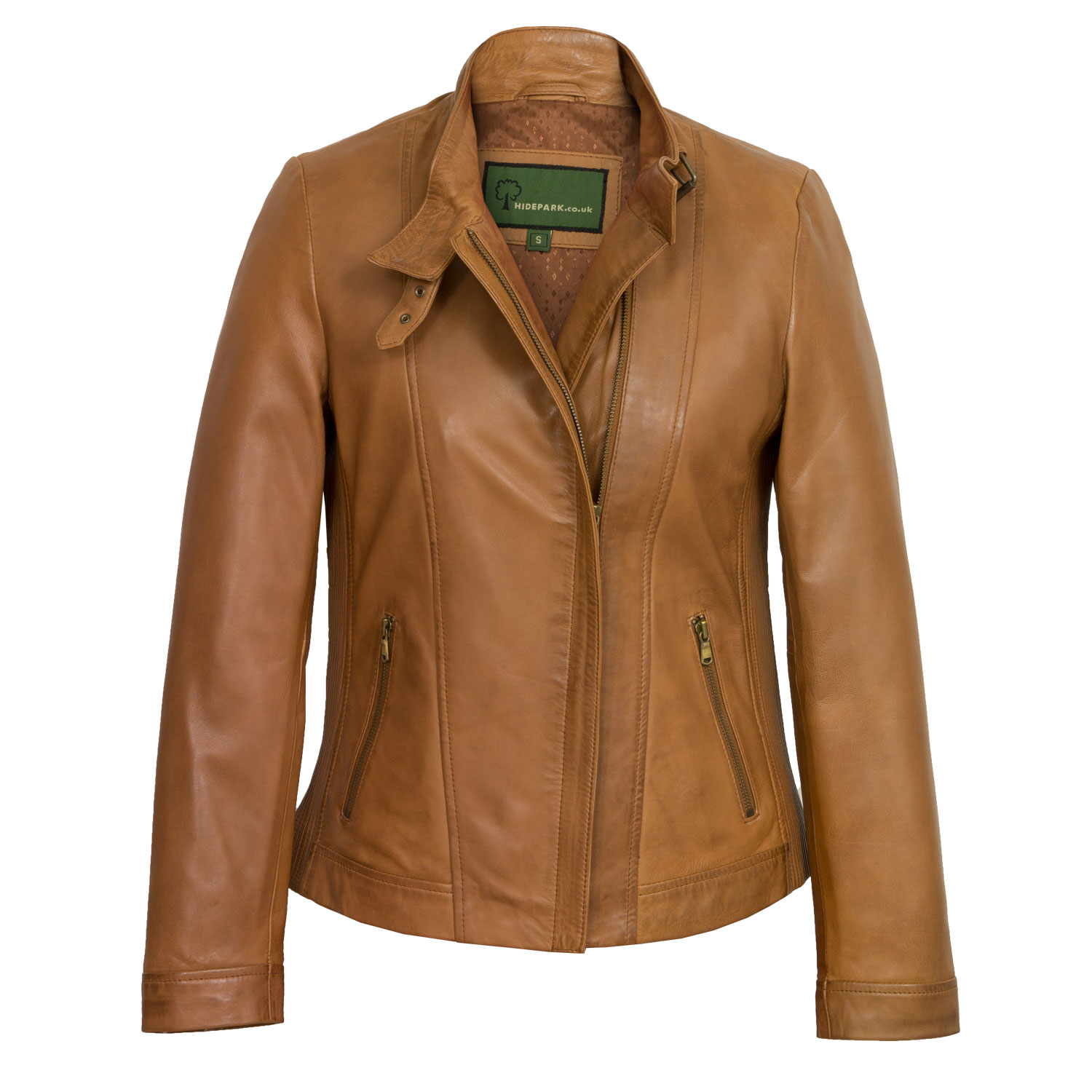 Leather look jackets
